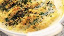 Parmesangratinerad plattfisk