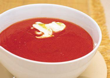 Tomatsoppa med ingefära