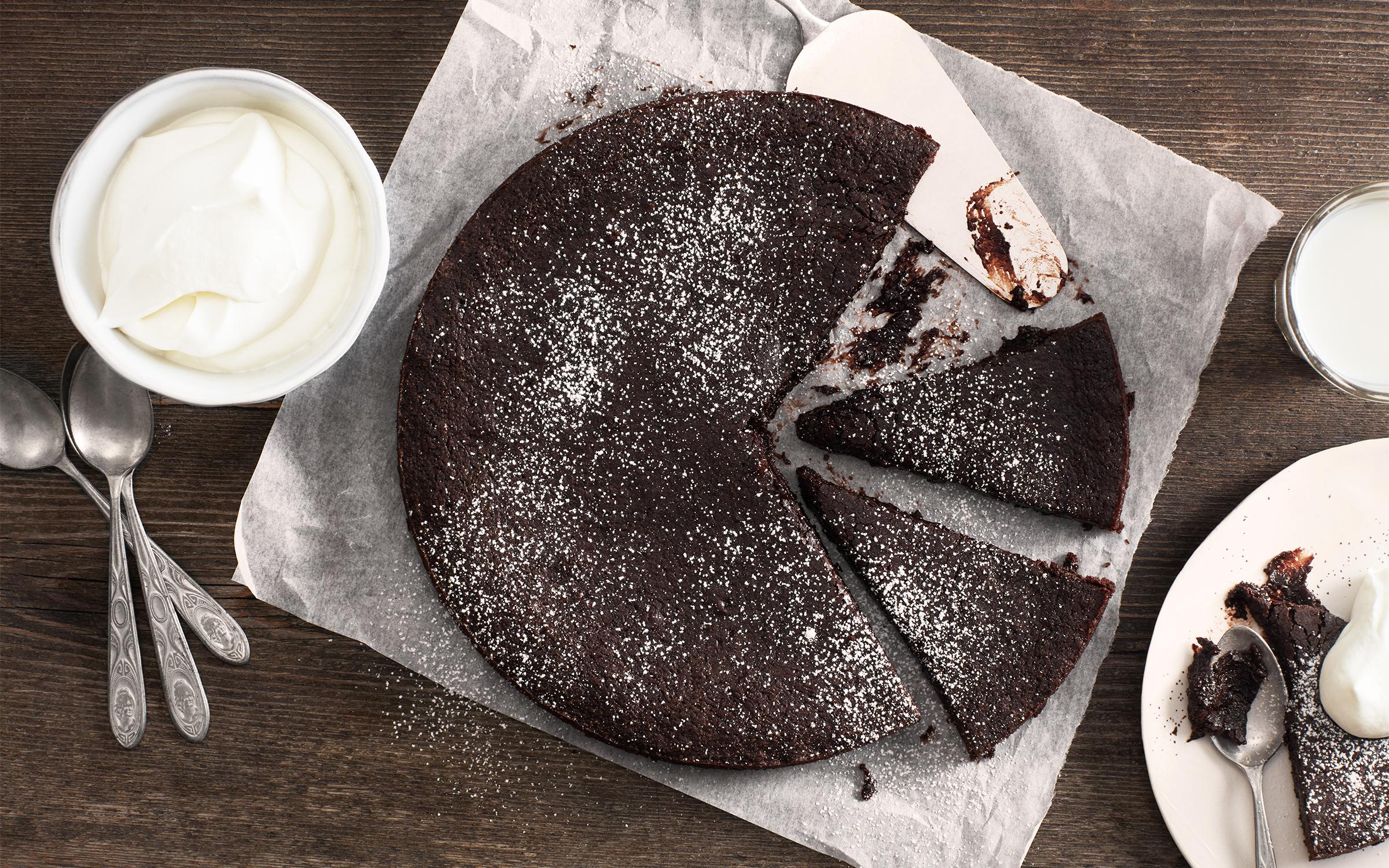 snabb chokladkaka recept