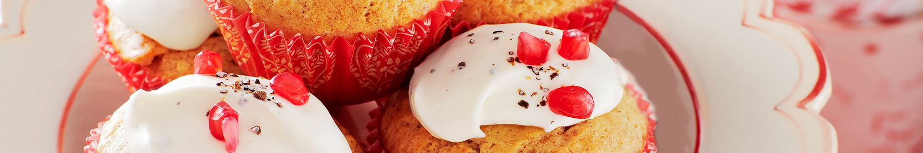 Vanilj + Muffins + Kräm