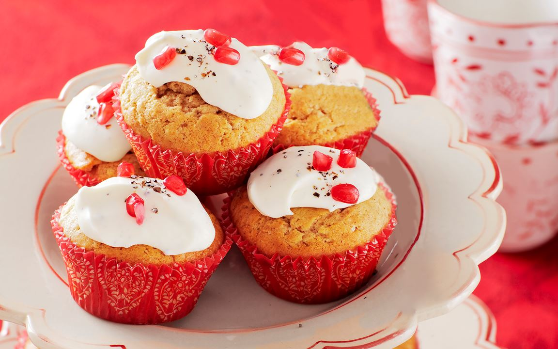 Pepparkaksmuffins
