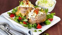 Räkröra till bakad potatis