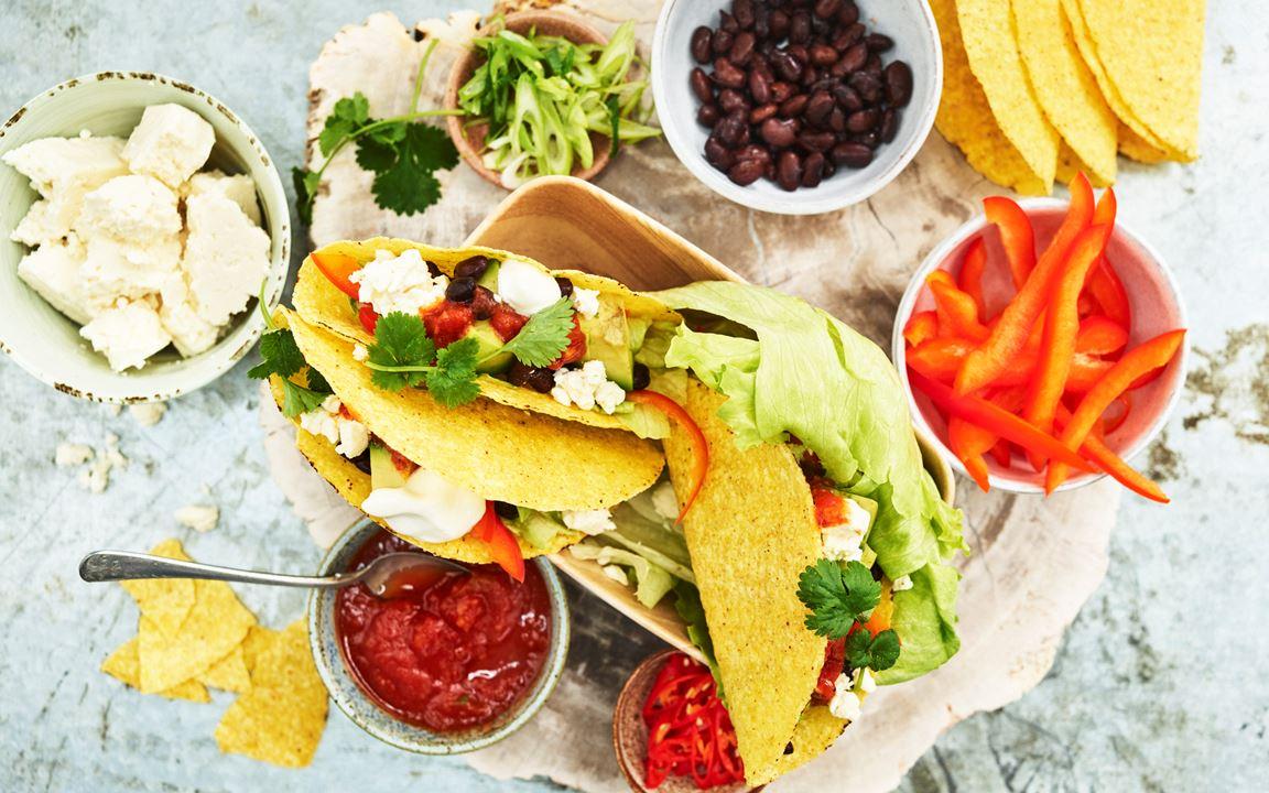 Vegetariska tacos