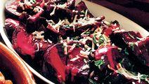 Gräddkokta rödbetor med pepparrot