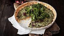 Glutenfri grönkålspaj