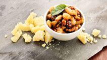 Rostade nötter med honung