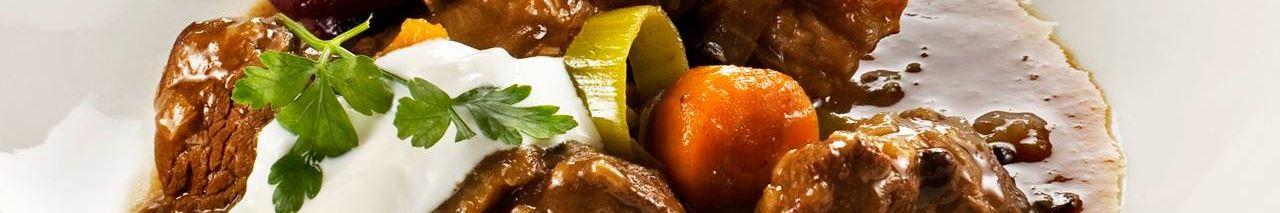 Smarrig köttgryta till huvudrätt