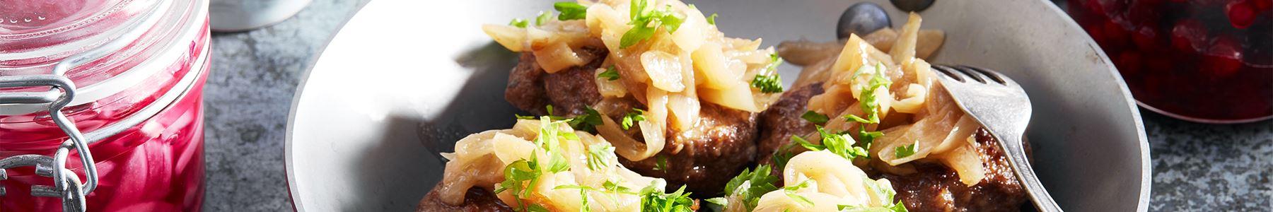 Snabbt och lätt med stekt köttfärs!