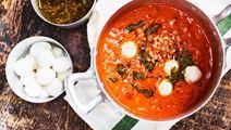 Italiensk soppa med farro
