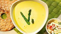 Sparrissoppa med italiensk klick