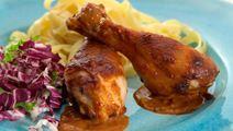 Kycklingklubbor med smak av Kina