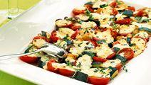 Gratinerade grönsaker