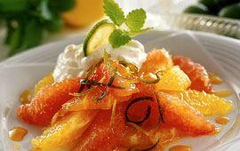 Vaniljmarinerade apelsiner