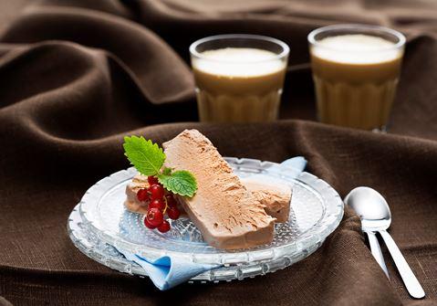 Enkel chokladparfait