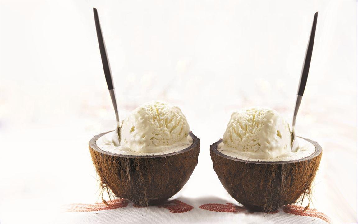 Kokosparfait