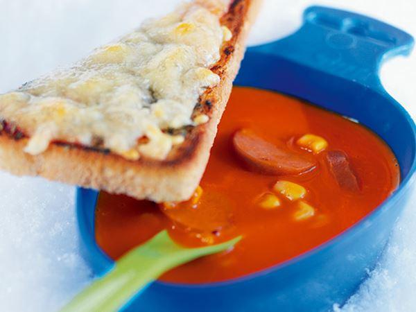 Het soppa med pizzatoast