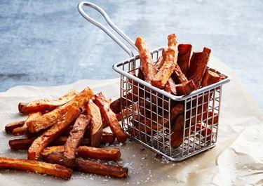 Sötpotatis pommes frites