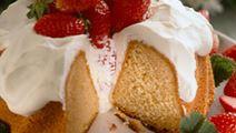 Honungskaka med jordgubbar 10 bitar