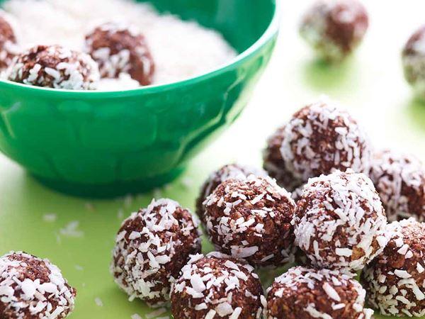 Sötsalta chokladbollar