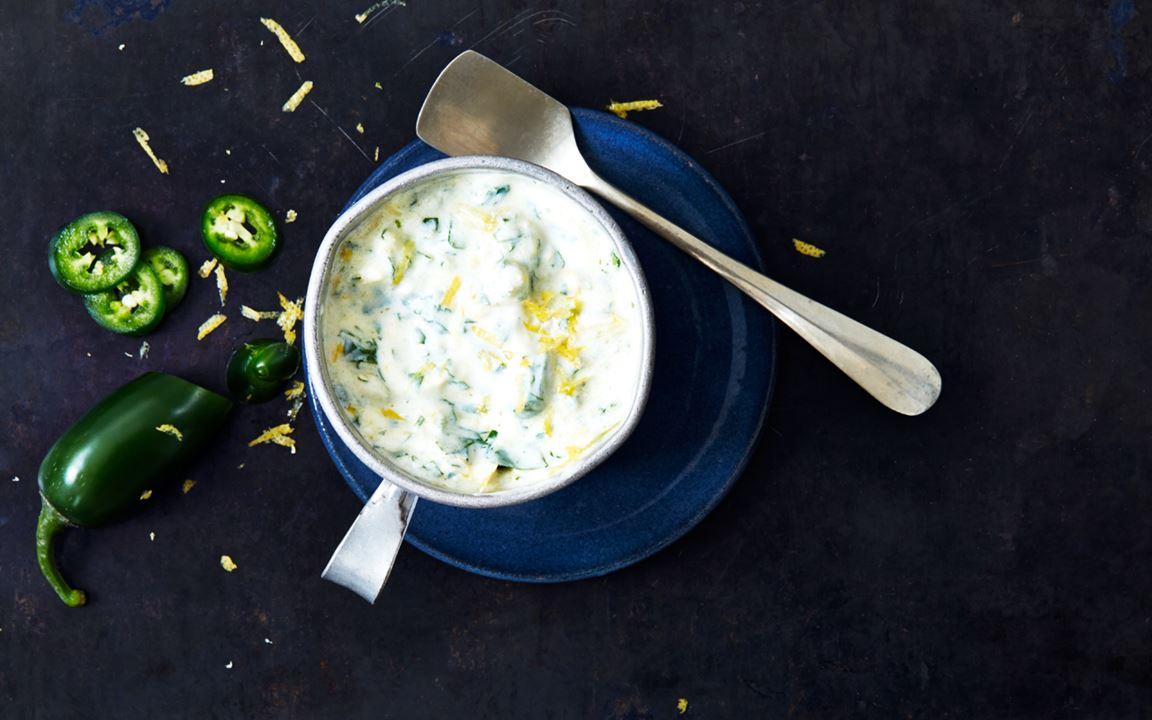 Yoghurtmarinad med Jalapeno