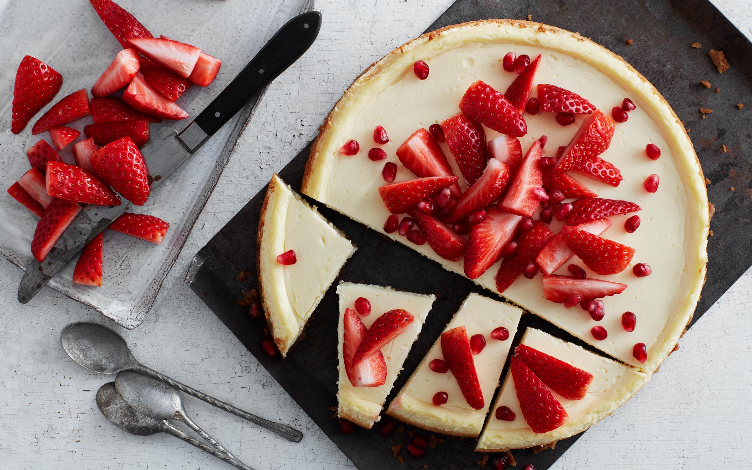 cheesecake utan ägg och mjölk