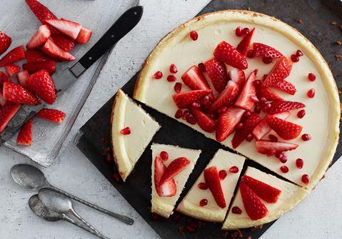 Klassisk cheesecake