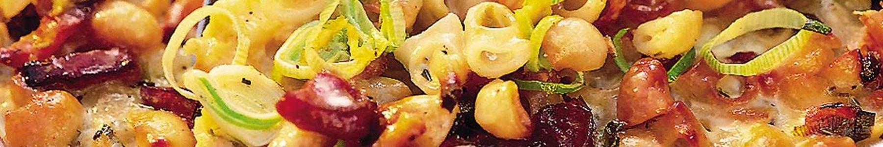 Korv + Huvudrätt + Pasta + I ugn