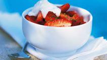 Marinerade jordgubbar
