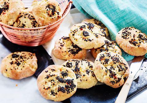 scones med morötter