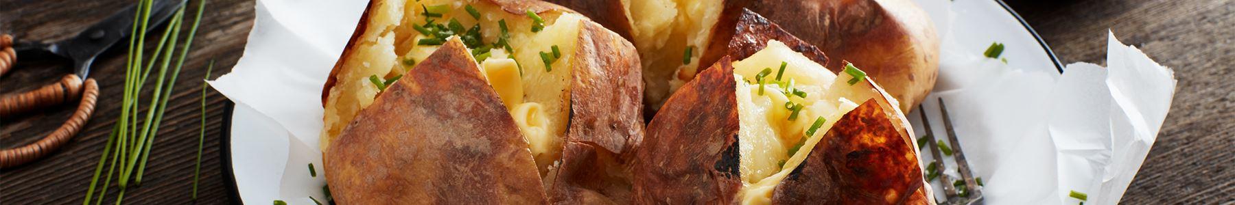 Potatis + Tillbehör + I ugn