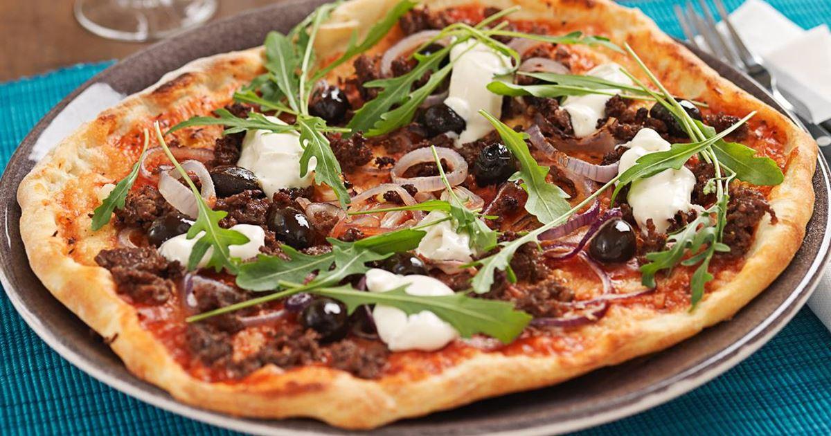 pizzadeg med dinkelmjöl