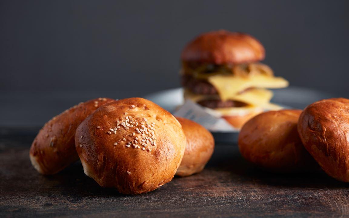 Potato buns hamburgerbröd