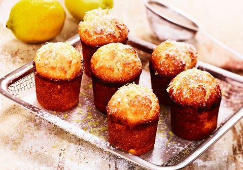 citronmuffins recept ica