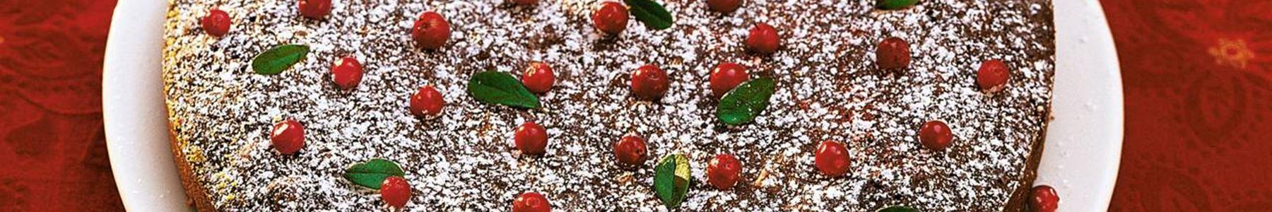 Russin + Mandel + Tårta