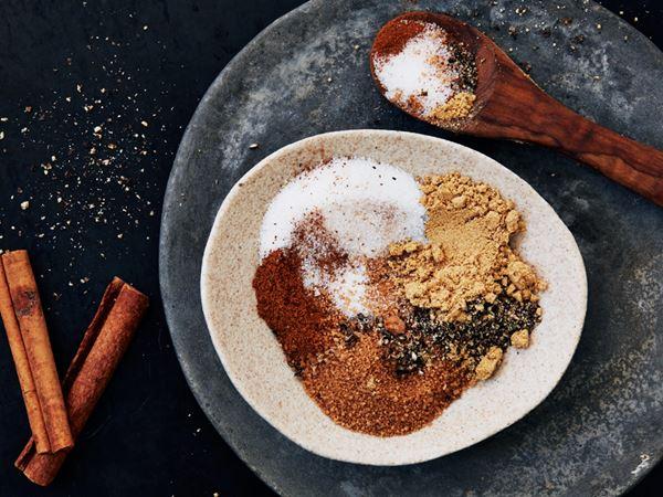 Rub med paprika och ingefära