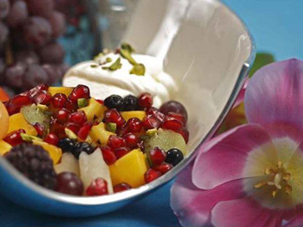 Fruktsallad med paradisfrukter