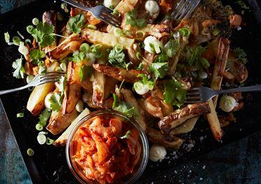 Kimchi country potatoes