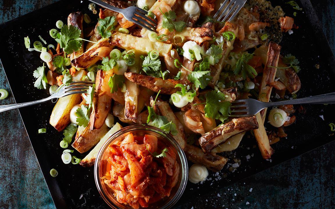 Kimchi Country Potatoes Recept Arla