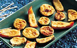 Parmesangratinerade paprikor 48 bitar