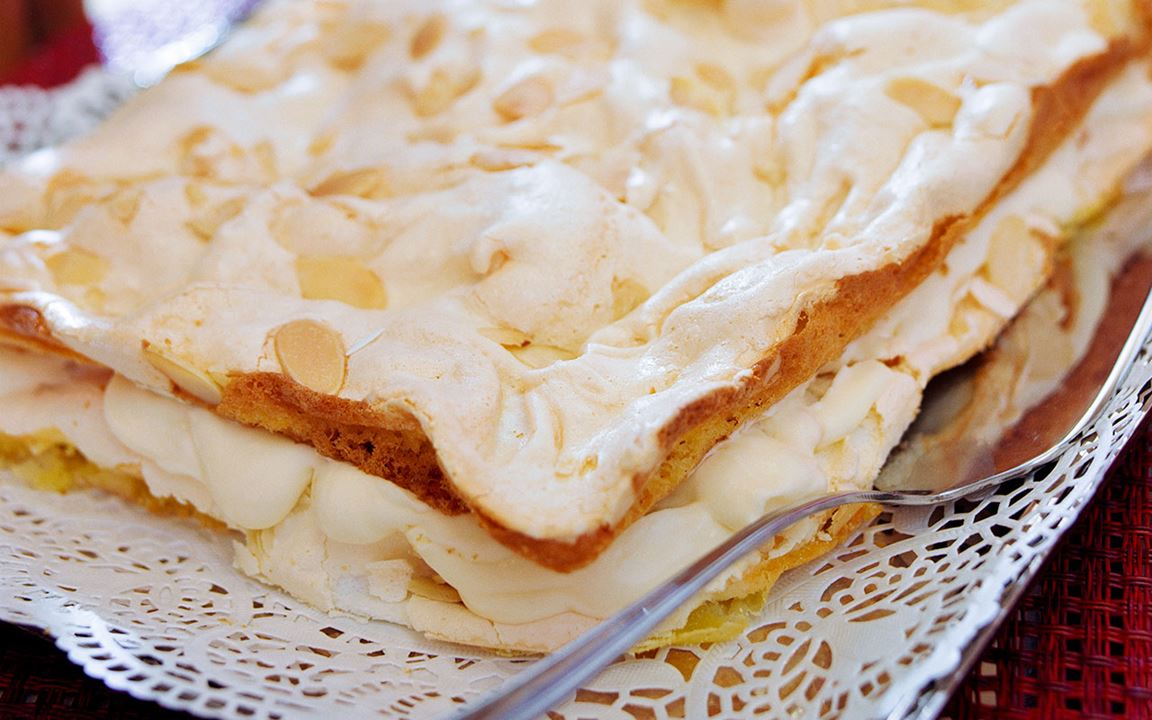 Marängtårta med citron