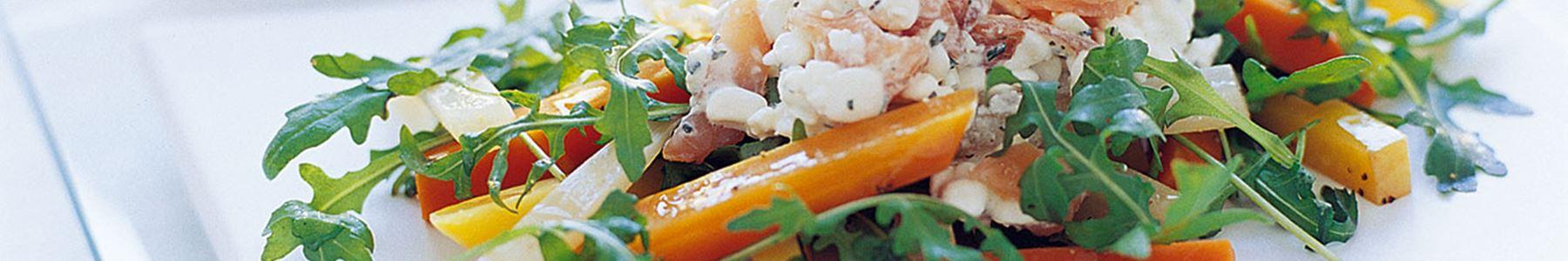 Lax + Morötter + Sallad