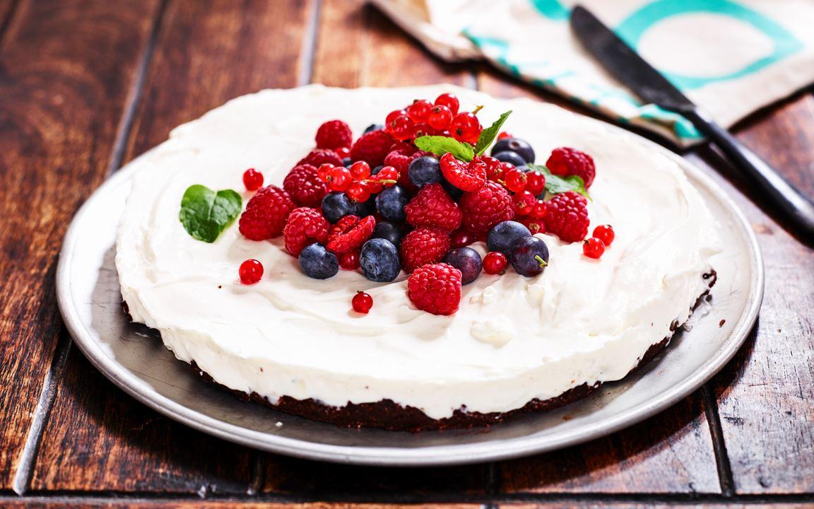 Glutenfri cheesecake