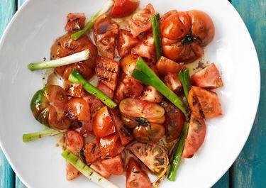 Grillad tomatsallad