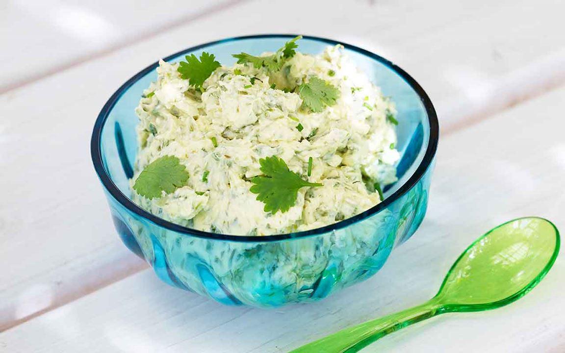 Kryddsmör med koriander
