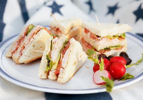 Club sandwich – grundrecept