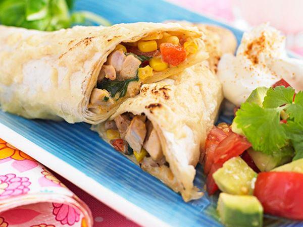 Enchiladas med kyckling