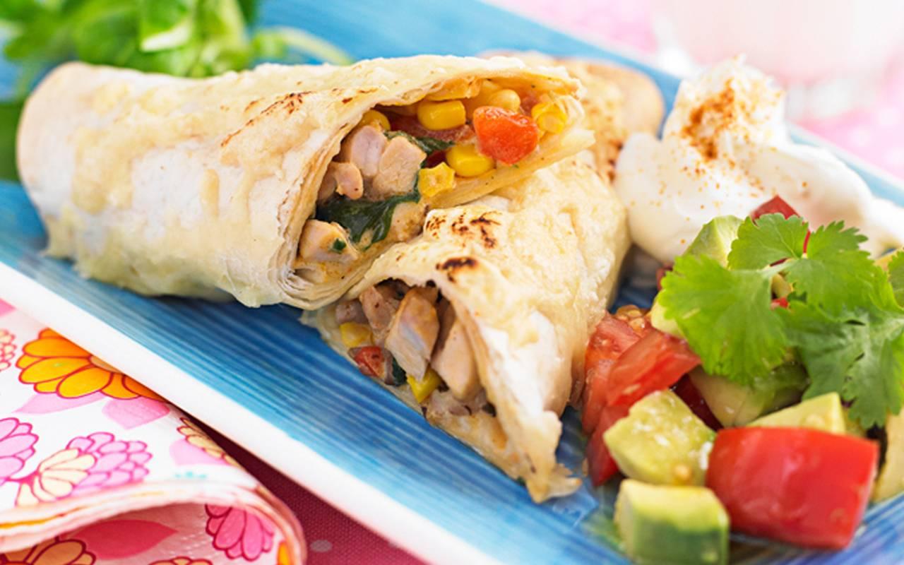 Recept på tacos med kyckling