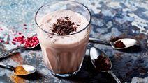 Milkshake i favoritsmaker