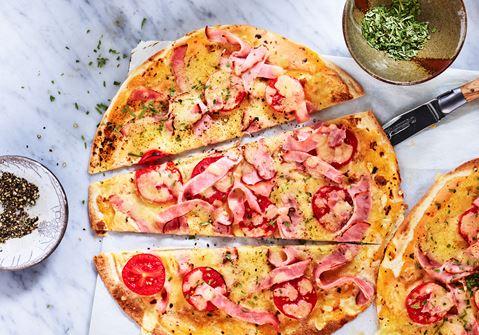 Pizza på momangen