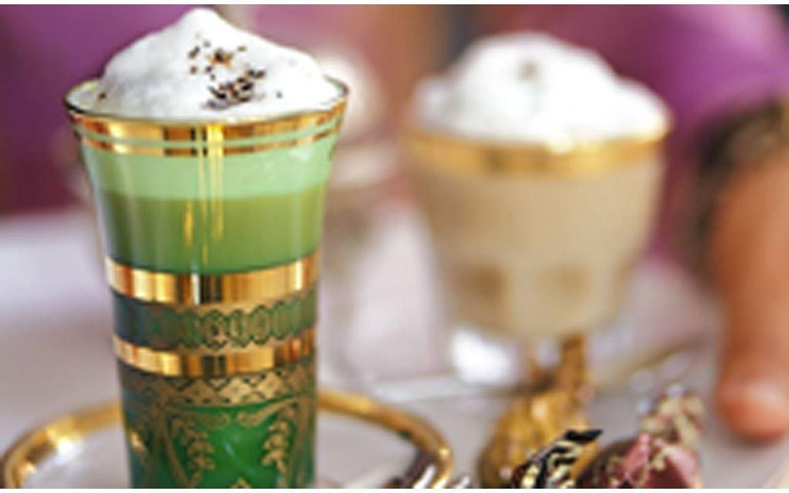 Chai med skummad mjölk
